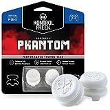 KontrolFreek FPS Freek Phantom - Gaming-Controller-Zubehör (Analoge Schlägergriffe, Playstation 4, Weiß, 125,4 mm, 19,1 mm, 100 mm)