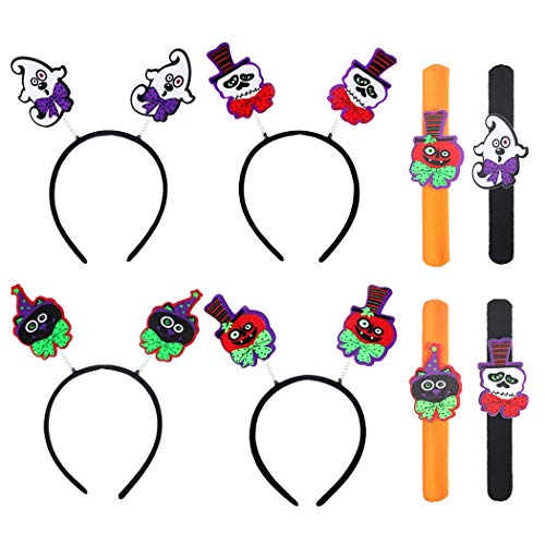 en Stirnband Cartoon Haarband Party Stirnband Mit 4 Schlag Armband ()