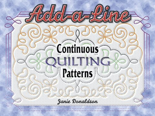 Add a Line: Continuous Quilting Patterns -