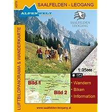 Alpenwelt Karte, Saalfelden - Leogang (A079)