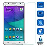 PACK OF 2 - Shop Buzz Tempered Glass Screen Guard for Samsung Galaxy J2 2016 Edition (Designed for Samsung J2 2016 Model - 2 Tempered Glasses)
