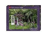 Heye 29690 - Standardpuzzle, Marion Nickig, My Secret Garden Pavilion, 1000 Teile