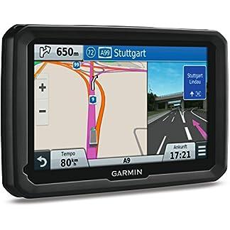 Garmin-dezl-LMT-D-LKW-Navigationsgert-lebenslange-Kartenupdates-DAB-LKW-spezifisches-Routing-Touch-Glasdisplay