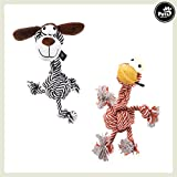 Pets&Partner Hundespielzeug Kautier, Giraffe für Kleine und Mittlere Hunde