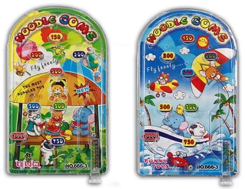 LG-Imports 1 x Geschicklichkeitsspiel Flipperspiel - ca. 13x7,5cm, 1 aus 2 Varianten