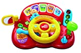 Vtech 166603 Baby Tiny Tot Driver Baby Toy Toddler Interactive Drover Toy Featuring a Steering Wheel with Music and Light Suitable for Children 1, 2, 3 Year Olds Boys & Girls