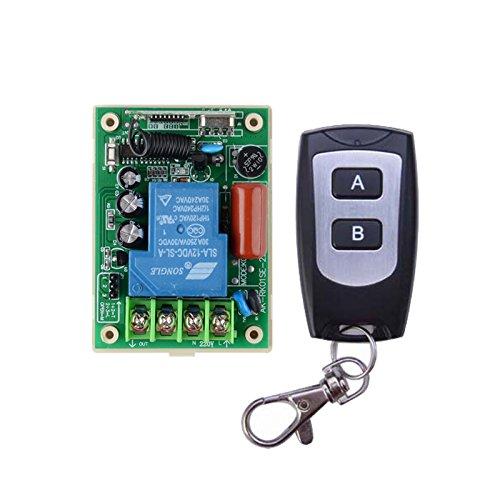 lejin 220V 30A relé Interruptor con mando a distancia 3000W-fernsteeurung Receptor de 433MHz iluminación/lámpara LED de agua Bomba Receptor de radio emisor manual Control Remoto