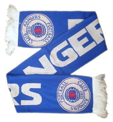 Rangers F.C. Jaquard Scarf