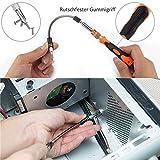 Zacro Schraubendreher Set 58 in 1 mit 54 Bits Magnetische Schraubenzieher Set für elektronische Kleingeräte Handy, Tablet, PC, Macbook, Uhr etc. - 7