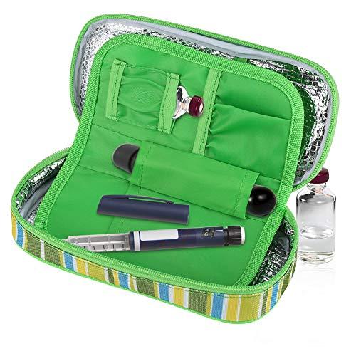 Acogedor borsa termica per mantenere l'insulina e medicinali, mini borsa termica medicinali o cosmetici be cool, l'insulina e farmaci