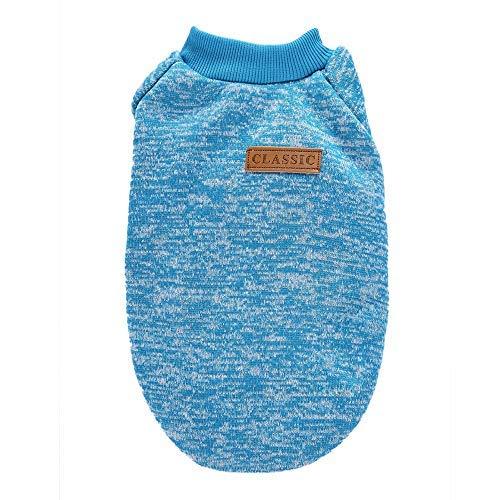 Kostüme Regenjacken probeninmappx Hunde Sweatshirt Hund Hoodie Kleidung Kostüm Warm Jack Coat, Blau, XL weiblich - Weibliches Tier Kostüm
