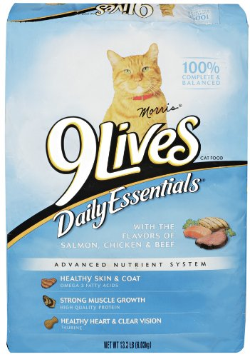 9 Lives Daily Essentials, 13.3-Pound Bag by 9Lives -