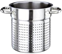 Paderno World Cuisine 11 Inch Stainless Steel Stock Pot Colander
