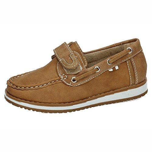 DEMAX NS599B-18 Mocasines DE NIÑO NIÑO Zapatos MOCASÍN