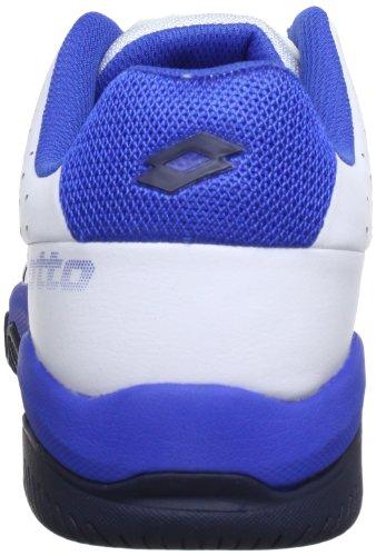 Lotto Sport T-TOUR 600 Q3788, Herren Tennisschuhe Weiß (WHITE/BLUE)