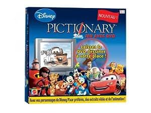 Mattel - K8842 - Jeu d'Ambiance - Pictionary Dvd Disney