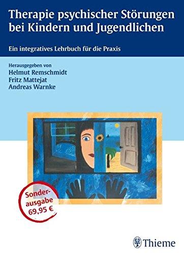 Cover »Therapie psychischer Störungen bei Kindern und Jugendlichen«