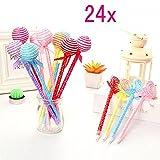 JZK 24 Lollipops bolígrafo para niños juguetes lindo - Best Reviews Guide
