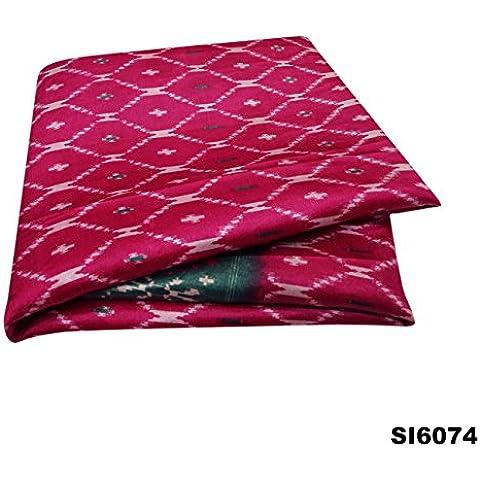 Vestido De Época Hasta La India Las Mujeres Sari De Satén De Seda Rosa Sarong Impresos Cubren La Decoración Del Hogar Sari Velo