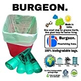 #5: Garbage bags biodegradable premium medium size garbage bag with 120 days worth of stock, Strong and sturdy built. (Trash bag / Dustbin bag). 100% biodegradable tested garbage bags.