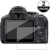 Paquete de 2 cristales templados Awinner antiarañazos para cámara de fotografía Nikon