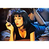 Pulp Fiction (21x14 inch, 52x35 cm) Silk Poster Seda Cartel PJ1C-F11C
