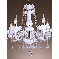 Goud lampadario lampada sospesa–Tradizionale/classica/rustico/vintage/Lanterna/Globe–con cristallo/lampadina inclusa, 220–240V