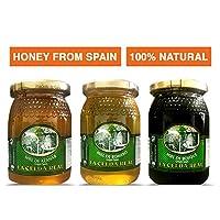 1,5kg / Pack 3uds. Miel de romarin + Miel de fleur d'oranger + Miel de forêt. Le miel de fleur d'oranger a l'un des arômes les plus agréables et les plus intenses de toute la gamme de miel de fleurs qui est sur le marché, mais agit également comme un...