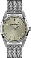 Reloj de caballero JACQUES LEMANS Nostalgie N-1558B de cuarzo, correa de acero inoxidable de Jacques Lemans