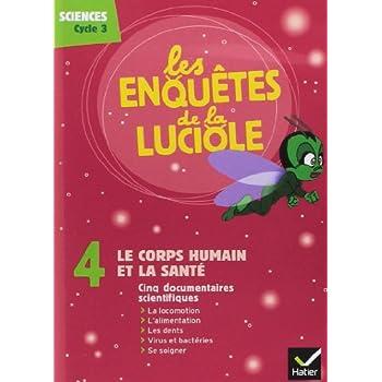 Les Enquêtes de la Luciole - Cycle 3 - DVD 4 le Corps Humain et la Sante