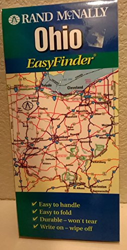 Rand McNally Ohio Easyfinder Map (EasyFinder S.) North Wi-chart