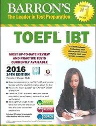 Barron's TOEFL iBT 2015 Guide (With DVD) by Pamela J Sharpe (2013-12-24)