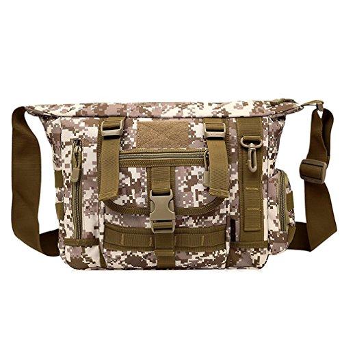 FFZH camuffamento digitale ventilatori militari tracolla / borsa del computer borsa uomo messenger / tattiche borsa casual , B F