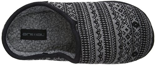 Animal Eazy, Chaussons homme Gris (Charcoal)