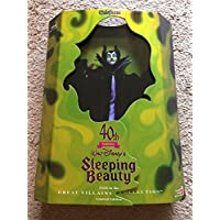Maleficent 40th Anniversary Walt Disney Sleeping Beauty Barbie Doll 5th in the Great Villains Collection Limited Edition