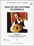 Worms et Herrero : Traité de Guitare Flamenca - Volume 1 (+ 1 CD)