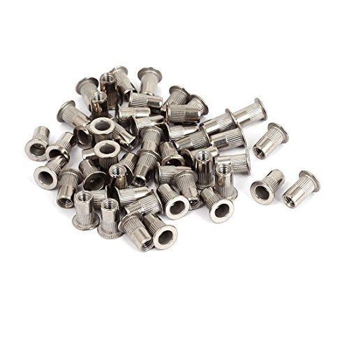 DealMux 50pcs M5x13mm en Acier Inoxydable à tête Plate Rivet Aveugle Nut Insert Nutsert, Modèle:, Outils & Quincaillerie