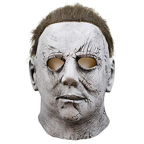 Fun Holi-day Supplies Halloween Maske Mike Meyer Kopfbedeckung Terror Grusel Spukhaus Cosplay Unfug Maskerade (Kinder Kostüme Myers Michael)