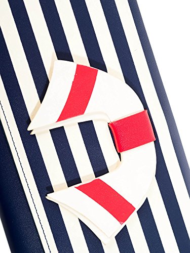 Dancing Days by Banned Clutch VINTAGE NAUTICAL WALLET 1489 Navy-Stripes