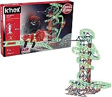 K'Nex 34376 - Thrill Rides - Web Weaver Roller Coaster, 9 Plus, Bau- und Kostruktionsspielzeug, 430 Stück