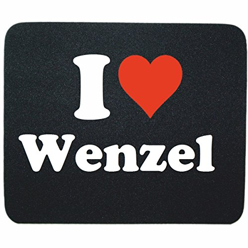 exclusive-gift-idea-mouse-pad-i-love-wenzel-in-black-a-great-gift-that-comes-from-the-heart-non-slip