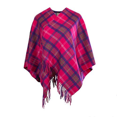 Edinburgh Cashmere - Poncho -  donna TARANSAY/PINK
