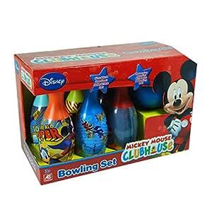 Disney - Jeu de quilles Mickey Mouse - Bowling set pour enfant