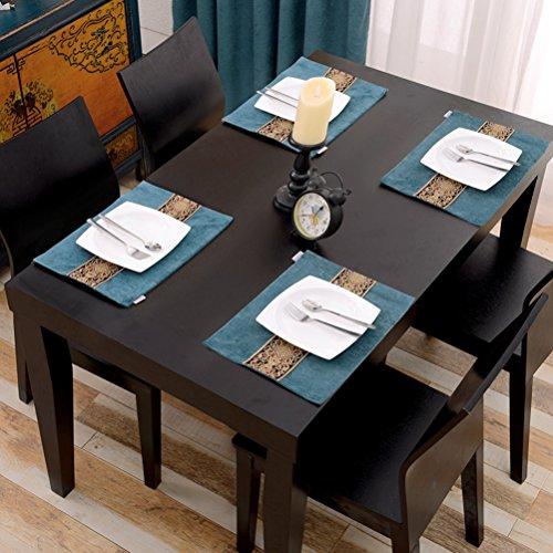 Sets De Table Sets De Table/De Salle À Manger Tissé En/Non-Skip Résistant À La Chaleur De Cuisine De Bande En Sets De Table/40*30Cm SHOME