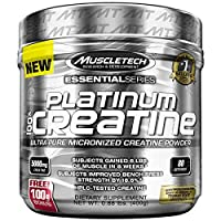 MuscleTech Platinum 100% Creatine, 400 g