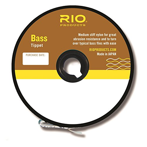 Rio Fly Angeln Habit, Bass Habit, 30YD 3,6kg Angeln Tackle, transparent