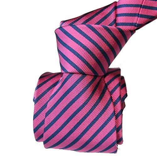 Segni et Disegni - Cravate Luxe Segni Disegni, Mogador, Brescia, Fushia Marine