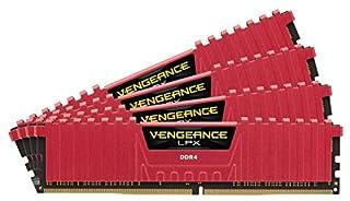 Corsair Vengeance LPX - Módulo de Memoria XMP 2.0 de Alto Rendimiento de 32 GB (4 x 8 GB, DDR4, 2400 MHz, C16) Color Rojo (B019X5WH5S) | Amazon price tracker / tracking, Amazon price history charts, Amazon price watches, Amazon price drop alerts