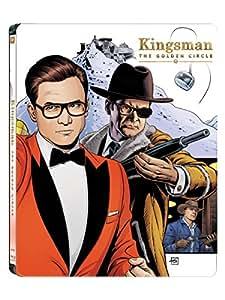 Kingsman: Il Cerchio D'Oro - Steelbook (Blu-Ray) - Esclusiva Amazon