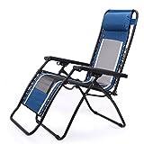 Stühle FEIFEI Siesta Lounge Klappstuhl Atmungsaktives Mesh Bürostühle Strand Balkon Liegestuhl Sonnenliegen, Garten